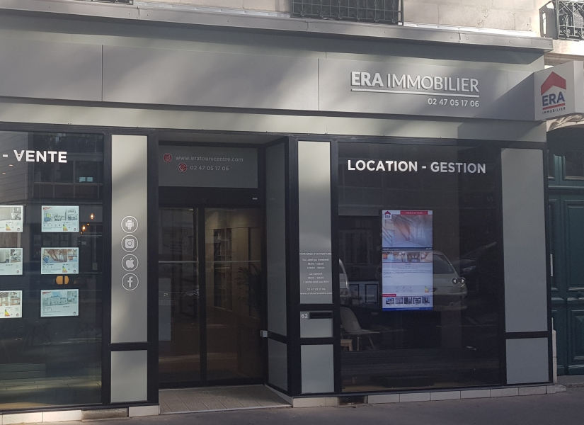 ERA TOURAINE IMMOBILIER (S) - TOURS
